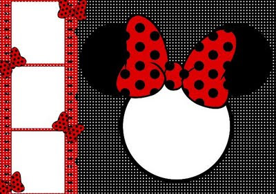 Convite Minnie Para Imprimir Grátis - Convites de