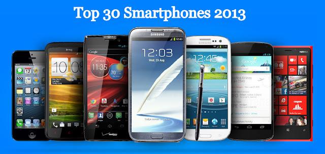 Top 30 Smartphones 2013