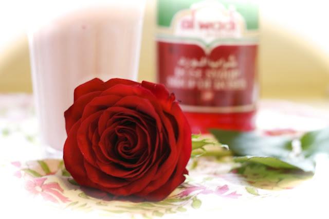 rose lassi- simplelivingeating.com