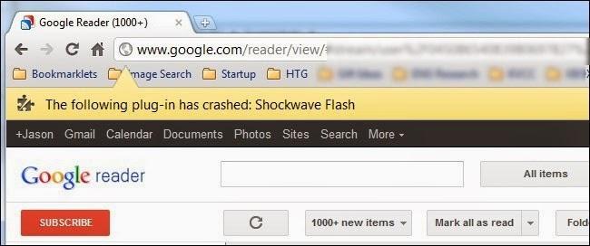 Hướng dẫn khắc phục lỗi Shockwave Flash crash trong Google Chrome