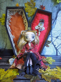 Vanessa The Vampire Coffin Girl LuLusApple