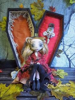 Vanessa The Vampire Coffin Girl LuLusApple