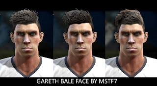 Gareth Bale Face By MSTF7
