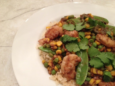 Aromatic Shrimp and Vegetable Stir Fry