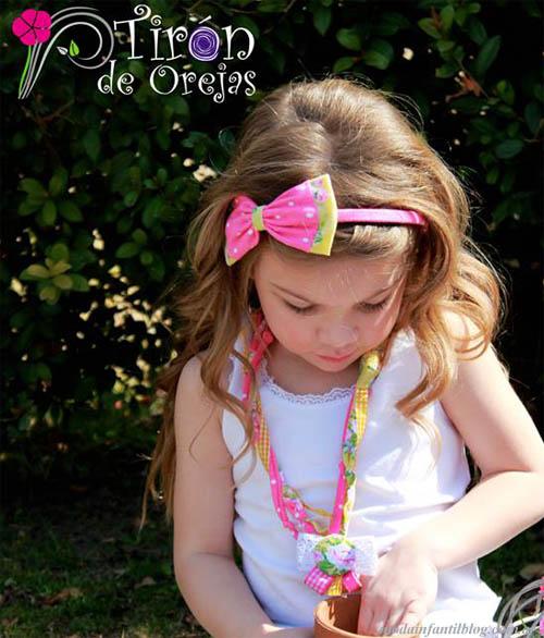 moda infantil 2014 accesorios nenas