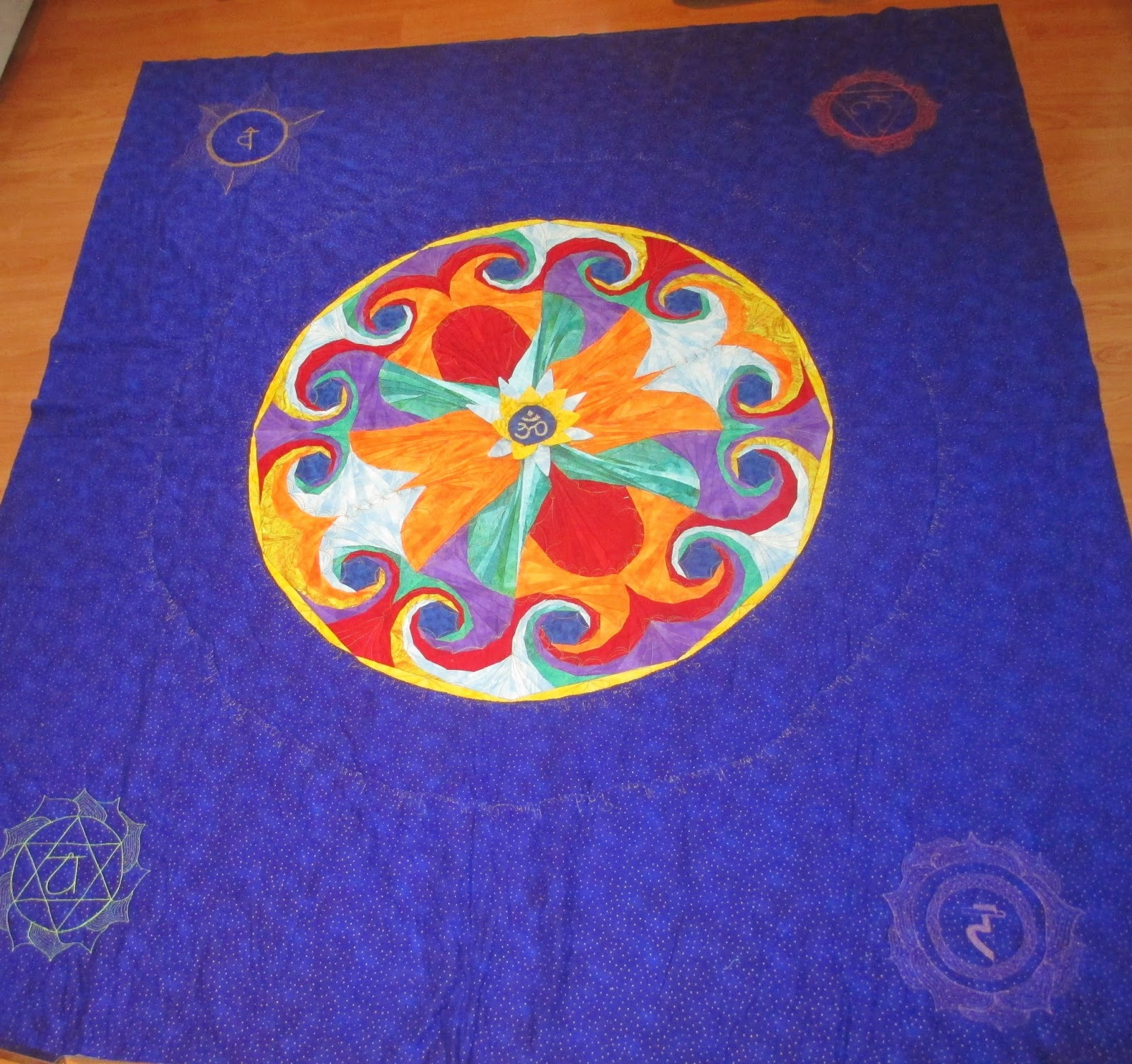 Patchwork todo el dia mi mandala - Tecnicas de patchwork a mano ...