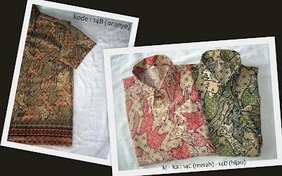Baju Batik Pria 14BCD