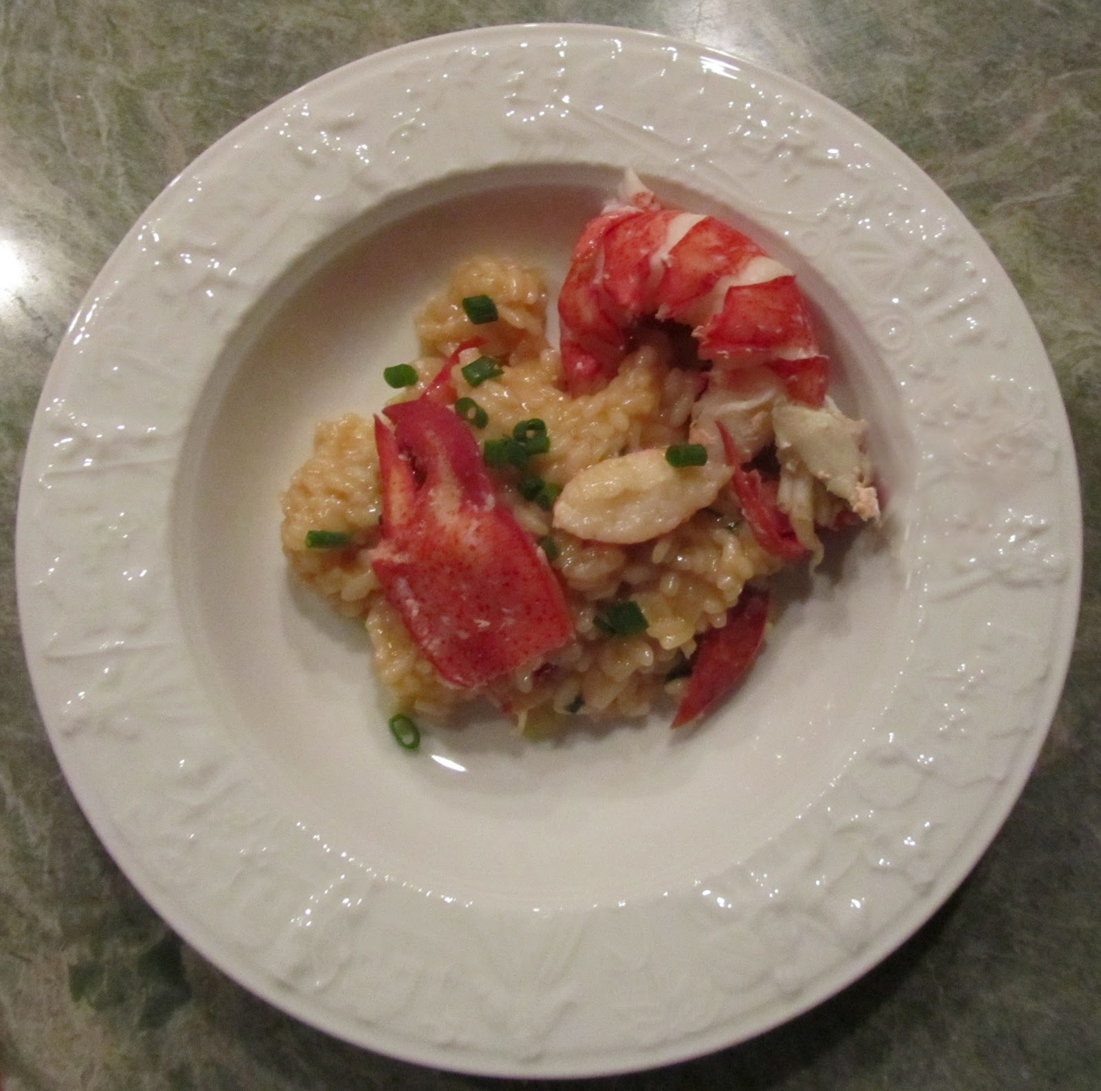 Brown-Butter Risotto with Lobster forecasting