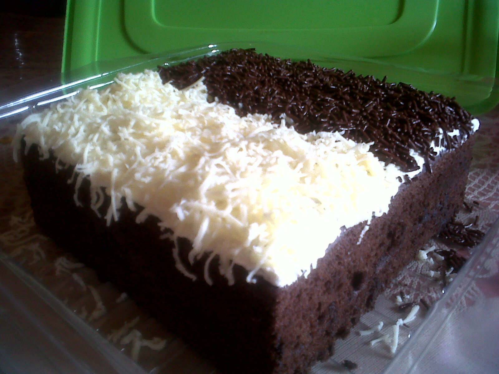 my fancy Kitchen: brownies kukus empuk