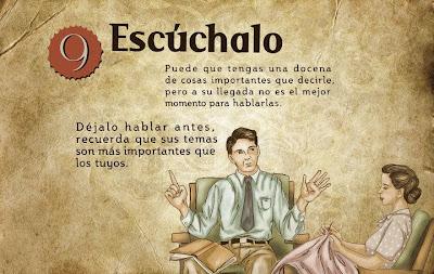 """""""Guía de la buena esposa - 11 reglas para mantener a tu marido feliz"""" - supuestamente publicado en 1953 por la Sección Femenina de Falange Española de las JONS Image10"""