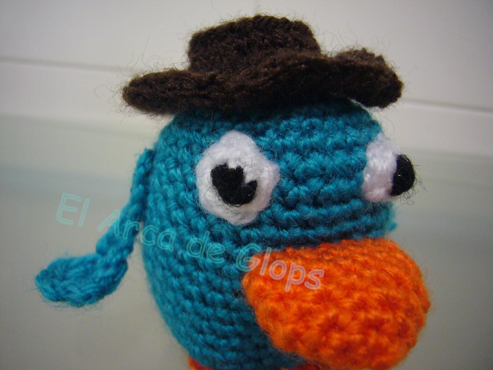 Amigurumi Manzana Patron : Perry el Ornitorrinco Amigurumi - Patron
