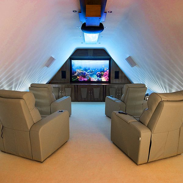 Home Entertainment Spaces: World Of Architecture: 16 Simple, Elegant And Affordable