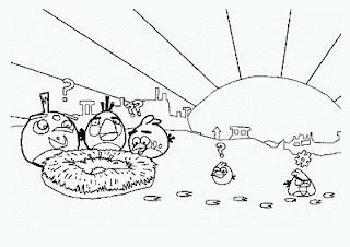 Angry Birds para Pintar, parte 5
