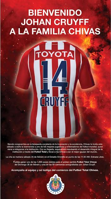 Bienvenido a Chivas Cruyff