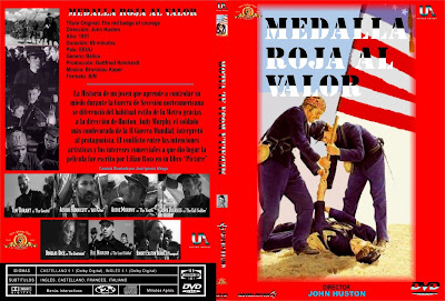 Caratula, cover, dvd: Medalla roja al valor | 1951 | The Red Badge of Courage