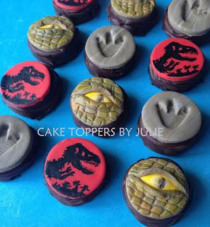 Jurassic World Cake Topper