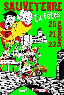 les fêtes de Sauveterre de Béarn 2013
