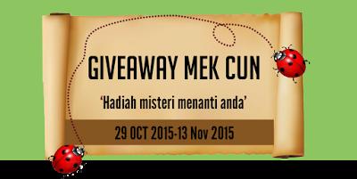 Giveaway Mek Cun