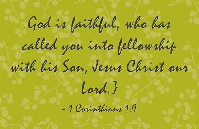 fellowship with God