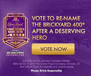 Vote To Re-Name The Brickyard 400 After A Deserving Hero