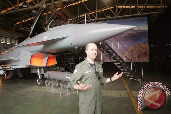 Eurofighter Typhoon diyakini bisa tingkatkan kapabilitas Indonesia