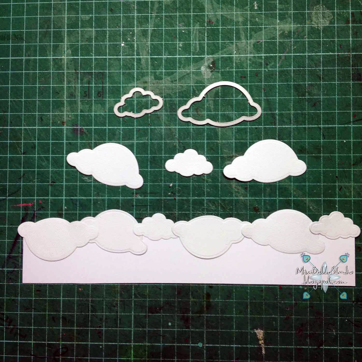 masked cloud backgound tutorial