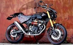 modifikasi motor honda tiger 2000 terbaru