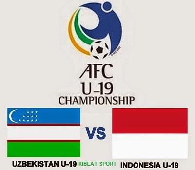 Jadwal & Hasil Pertandingan Timnas U-19 Indonesia Vs Uzbekistan, Piala Asia AFC U-19 2014 Myanmar