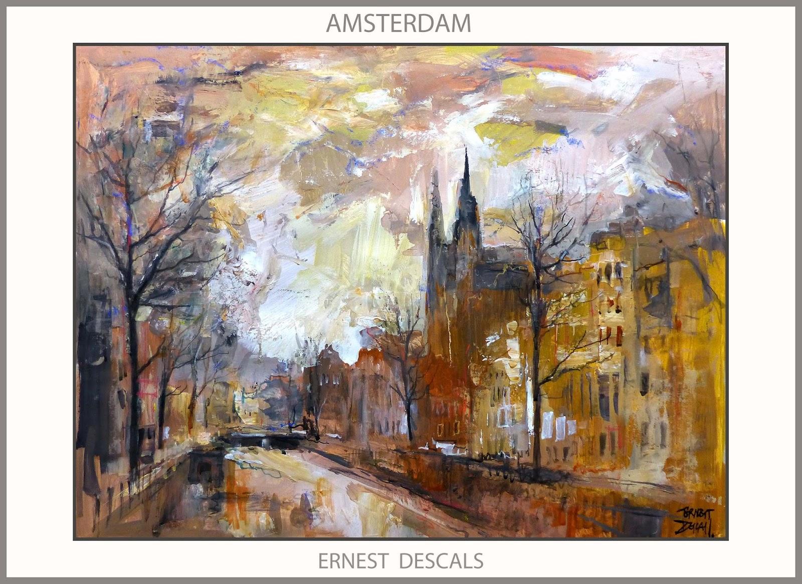 Ernest descals artista pintor amsterdam pintura paisajes - Cuadros de pintura ...