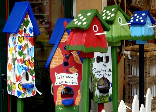 Il mondo in un giardino ottobre 2012 - Casette per uccellini da costruire ...