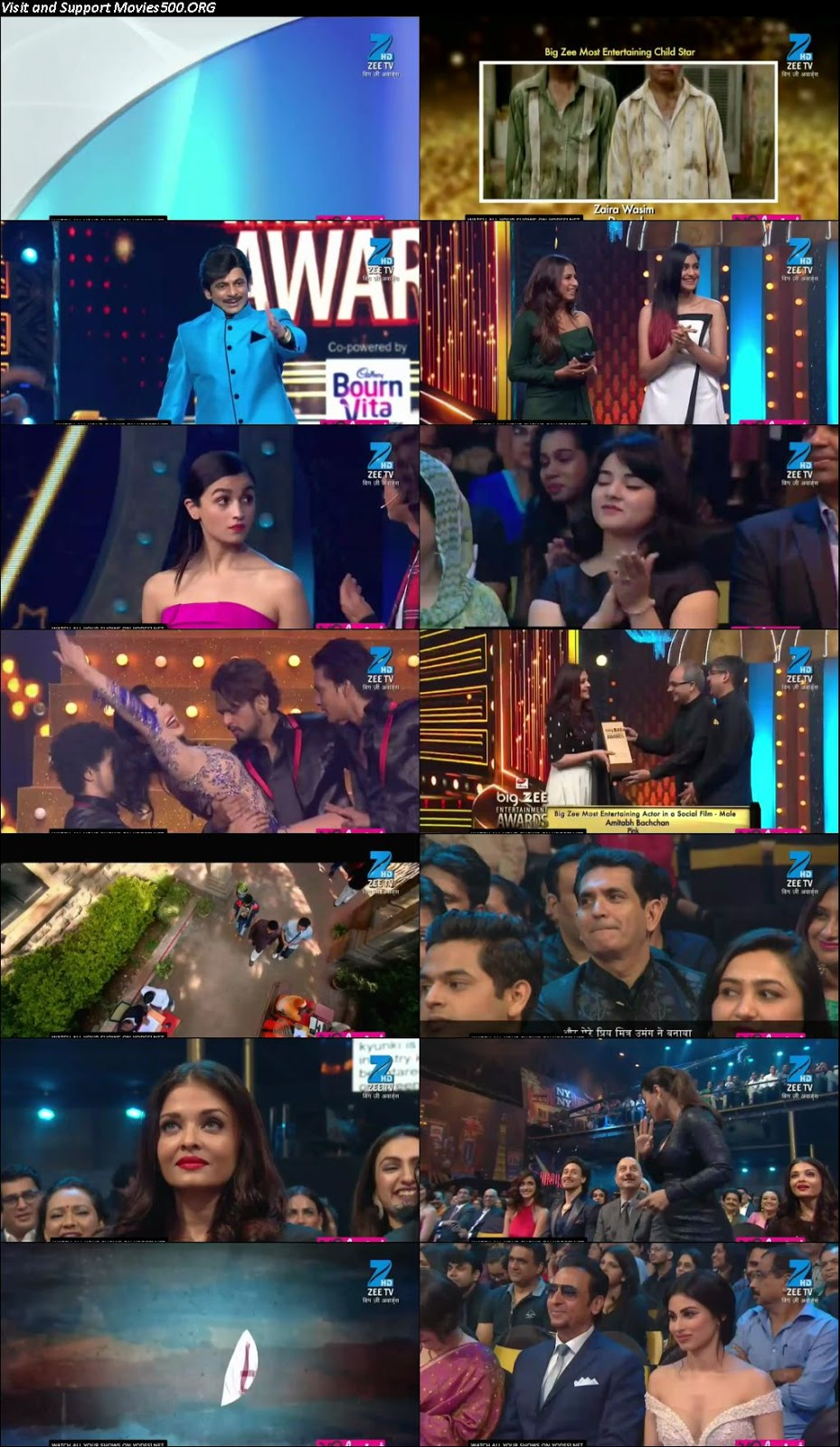 Big Zee Entertainment Awards 2017 Main Event Download HD 720p at movies.org