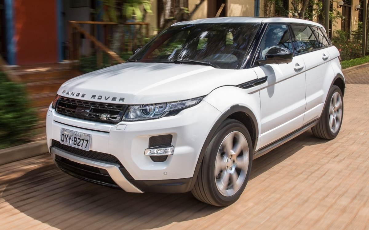 Range Rover Evoque 2016 - 2º SUV mais vendido