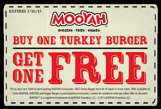 Mooyah coupon code
