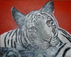 Tiger von Sonja Blügel