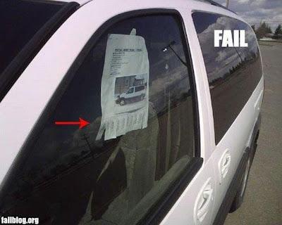 Jeito fail de vender seu carro