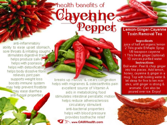 Cayenne Pepper's Health Benefits