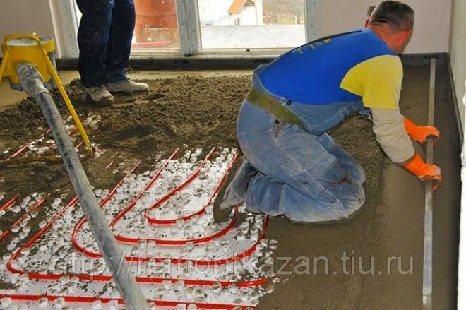 Стяжка полусухая своими руками - Vento-divino.ru