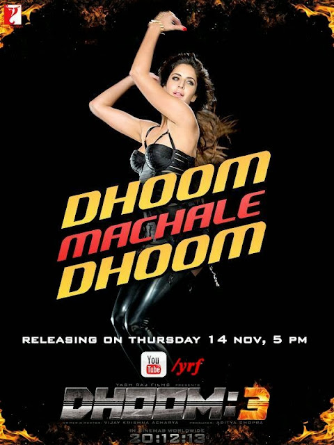 Katrina Kaif's hot poster from Dhoom 3- Dhoom Machale Dhoom poster