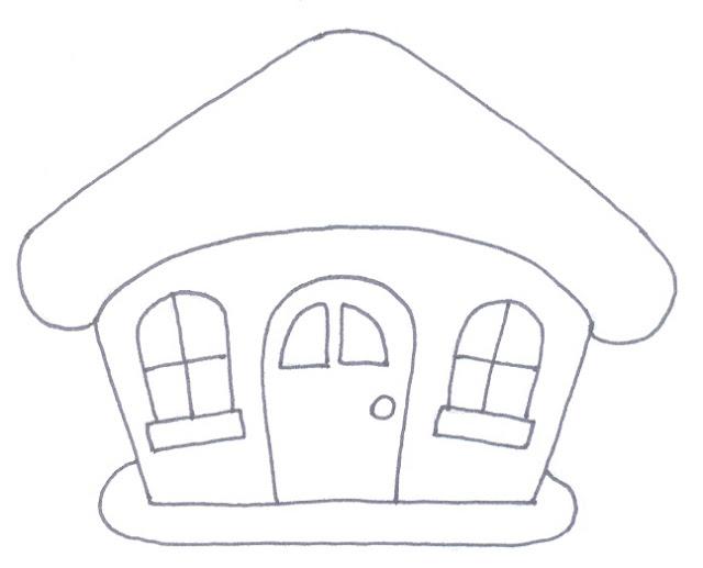La trapera de amelia patrones de casitas - Patrones casas patchwork ...