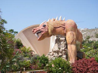 Dragón de Siam Park vista 6