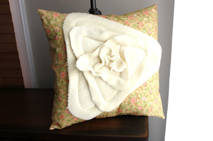 Day Lily Pillow Tutorial