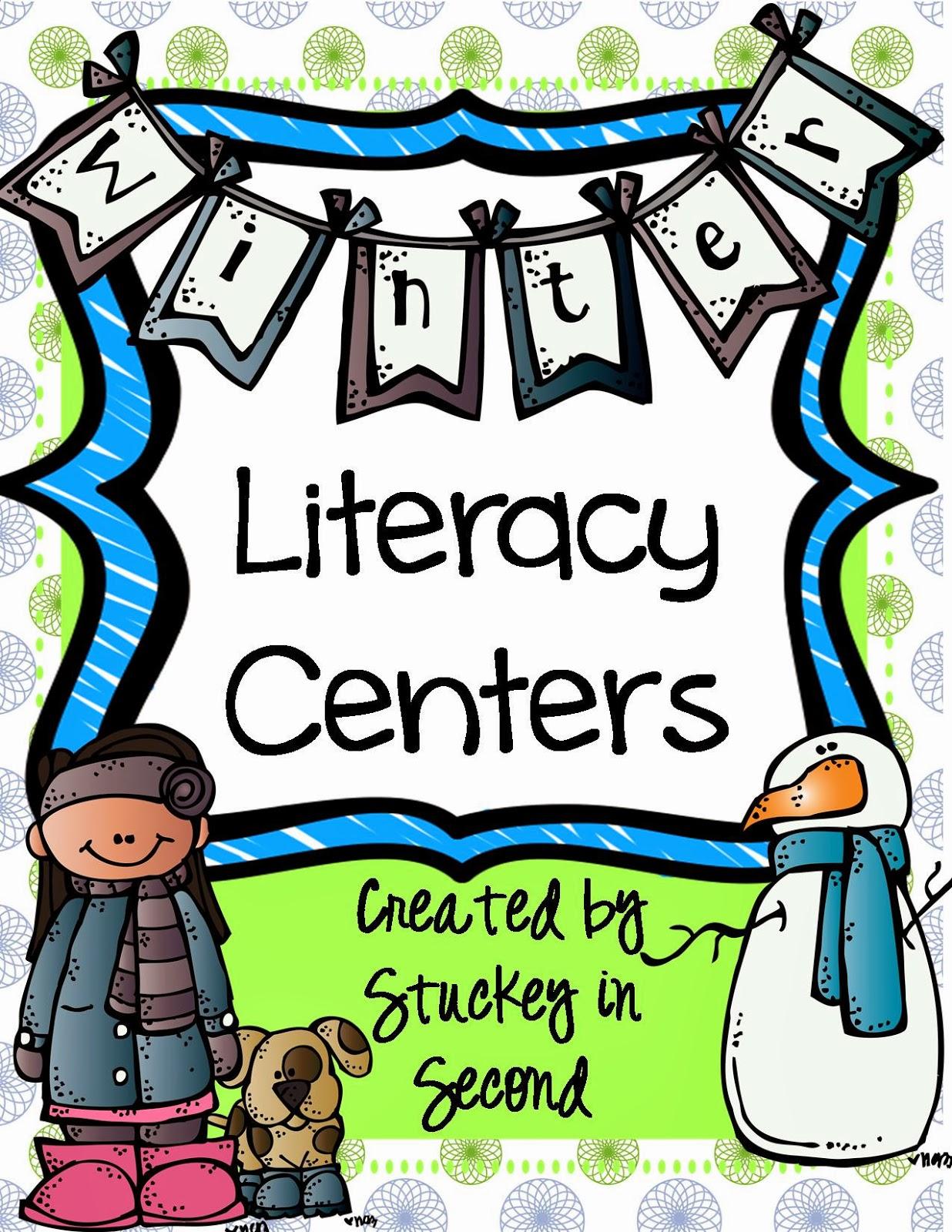 http://www.teacherspayteachers.com/Product/Winter-Literacy-Centers-5-Centers-Included-1032737