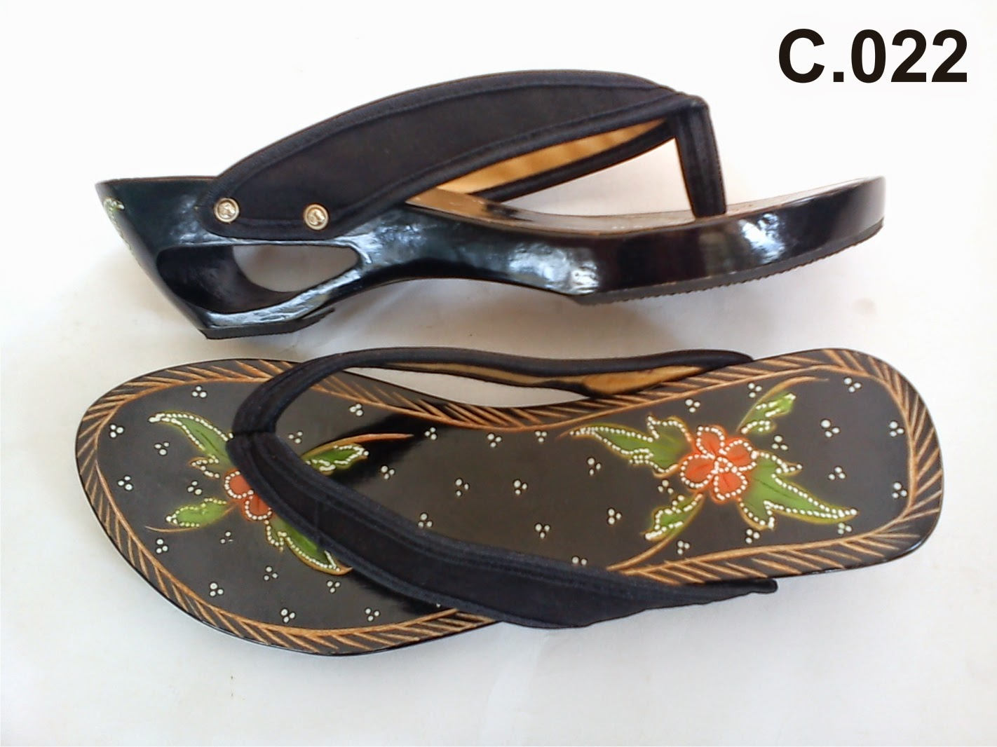 Sandal Wanita Terbaru Kelom Geulis Tasikmalaya