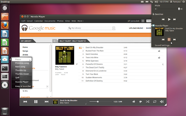 most good looking music players for linux