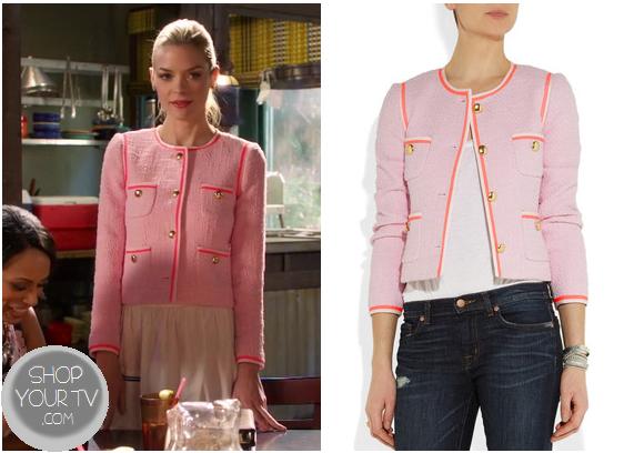 Hart of Dixie: Season 2 Episode 22 Lemon's Pink Tweed Jacket |