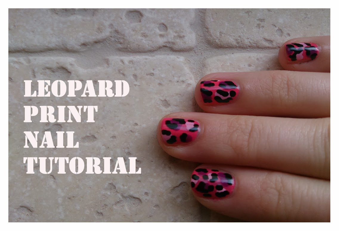 how to leopard print nail art tutorial youtube easy video dotting tool polish varnish