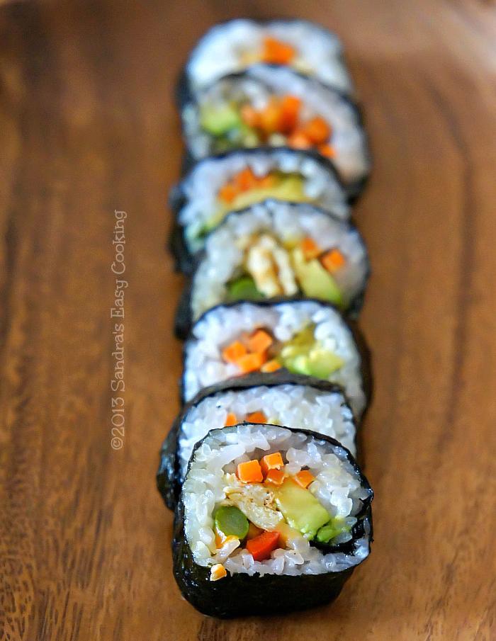 Lunch Box: Kimbap - SANDRA'S EASY COOKING