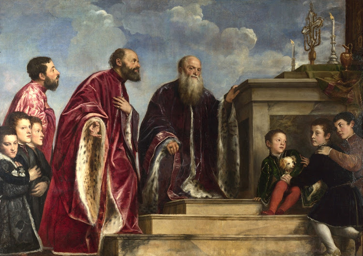 Titian and workshop - The Vendramin Family