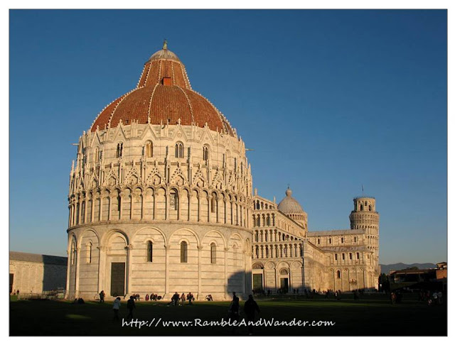 Battistero, Cathedral, Tower, Pisa, Italy
