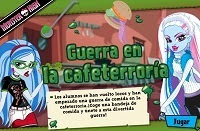 Monster High Guerra de comida